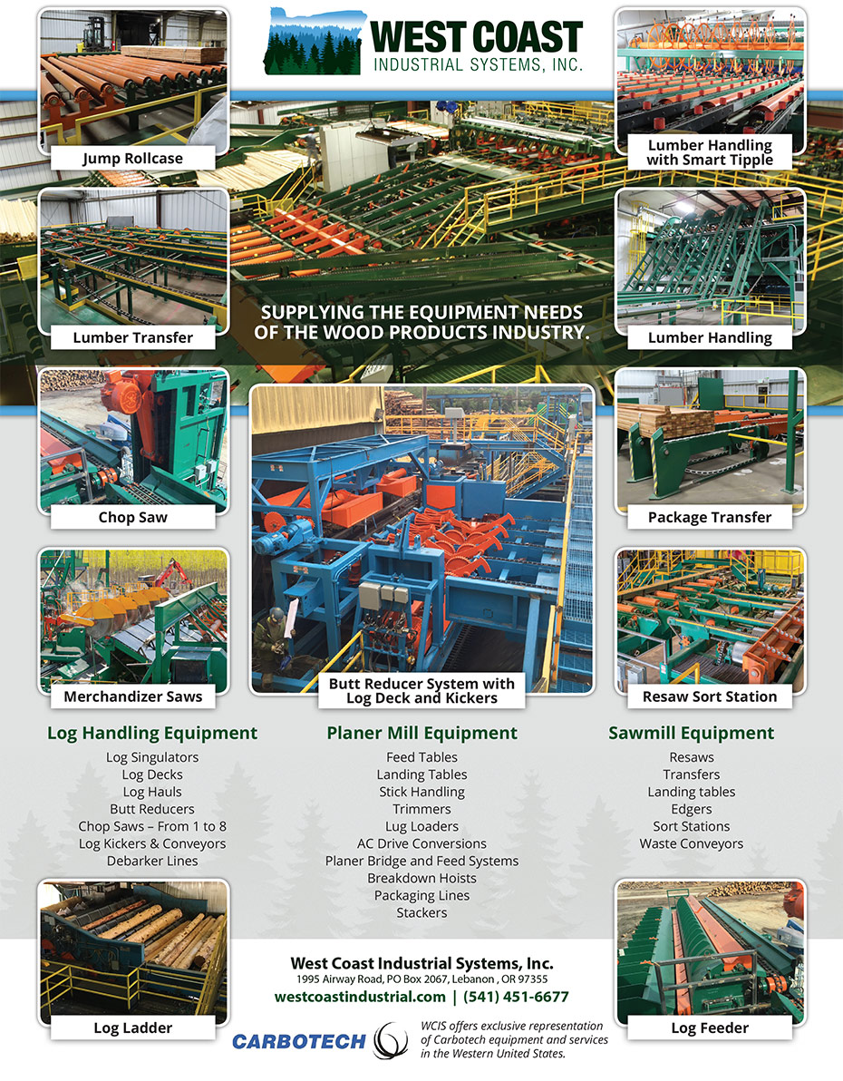 WCIS Ad - Timber Processing (Full Page) - 8.125wide x 10.875high-CROP