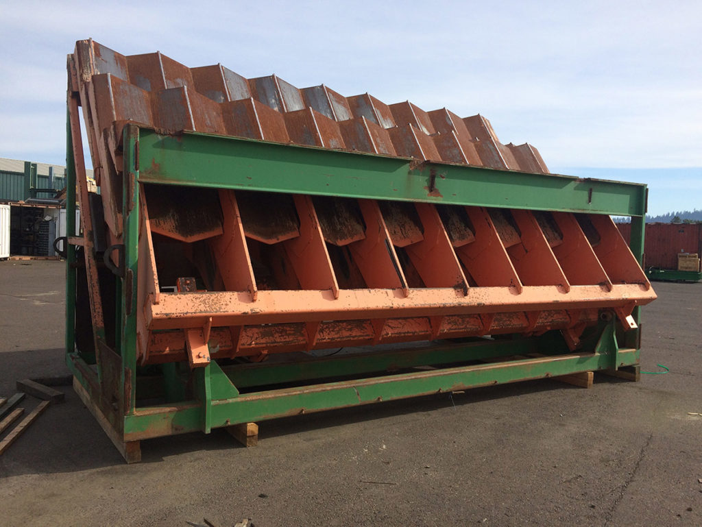 Comact Wave Feeder, 20', good condition - $65,000  (Optional 2nd Comact to make a 40' Log Feeder – additional $55,000)